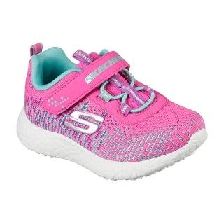 Skechers 81912N NPTQ Girl's Toddler BURST - ELLIPSE II Sneaker