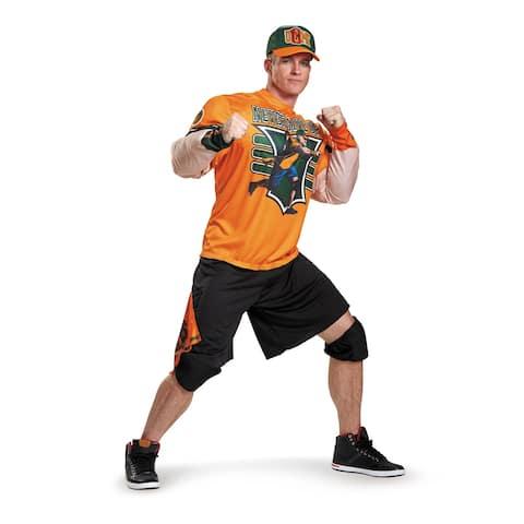 Mens Classic Muscle John Cena Costume size 42-46 XL - Standard - One Size