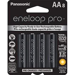 Panasonic Eneloop Pro AA Size NiMH Rechargeable Battery BK-3HCCA8BA