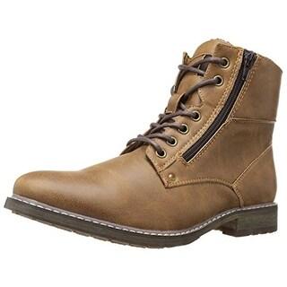 Call It Spring Mens Riqui Winter Boots Faux Fur Ankle - 7.5 medium (d)