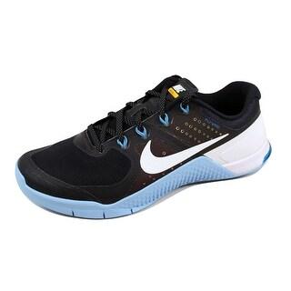 Nike Men's Metcon 2 AMP Black/White-Bluecap-Blue Glow 819902-001