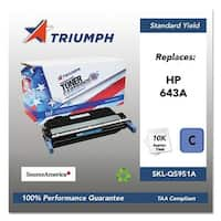 Triumph Remanufactured 643A Toner Cartridge - Cyan Toner Cartridge