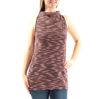 SANCTUARY $59 Womens New 3311 Red Cowl Neck Sleeveless Casual Top M B+B