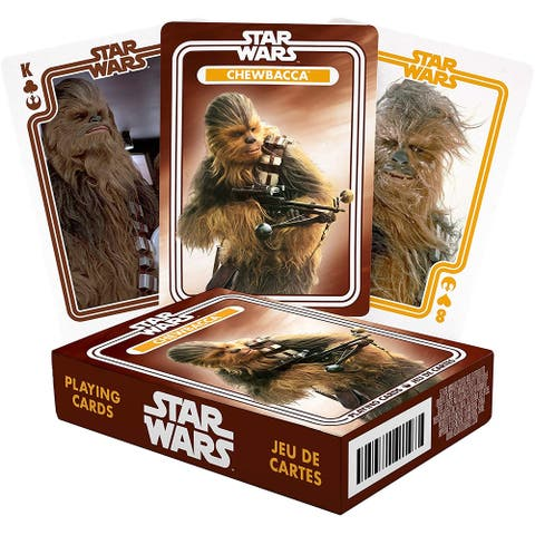 Star Wars Chewbacca Playing Cards - Multi