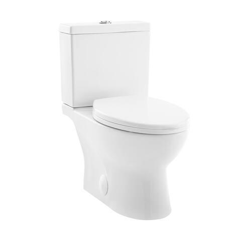 Caché Two Piece Elongated Toilet Dual Flush