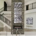Statements2000 Silver Abstract Etched Metal Wall Art Sculpture by Jon Allen - Galactic Expanse - Thumbnail 6