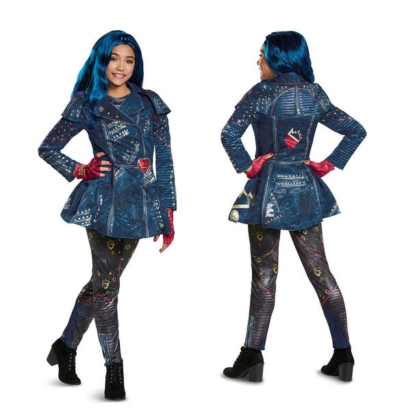 Girls Descendants Deluxe Evie Isle Look Costume