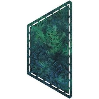 "Go! Fabric Cutting Dies-Half Hexagon 4-1/2"" Sides"