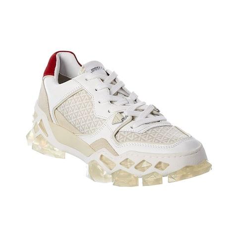 Jimmy Choo Diamond X Leather Sneaker
