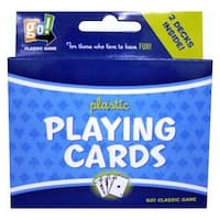 Go Games 2 Deck Playing Card Set, Card Games by Go Games
