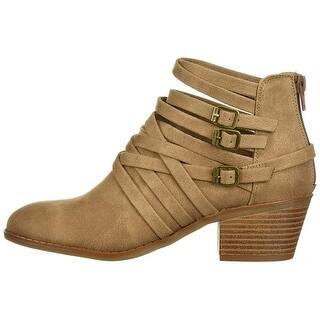 3fcff997fc Fergalicious Womens Paisley Closed Toe Ankle Fashion Boots