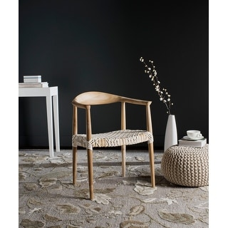 Link to Safavieh Bandelier Light Oak Arm Chair Similar Items in Decorative Accessories