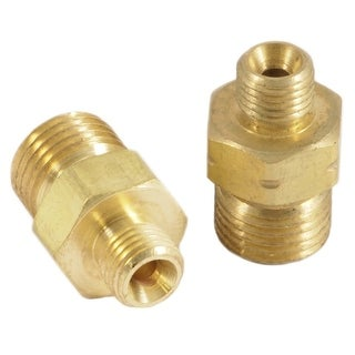 Forney 86152 Oxygen & Acetylene Hose Adapters, Solid Brass