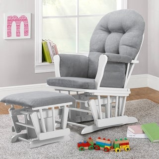Link to Bentley Glider and Ottoman Similar Items in Kids' Ottomans & Gliders