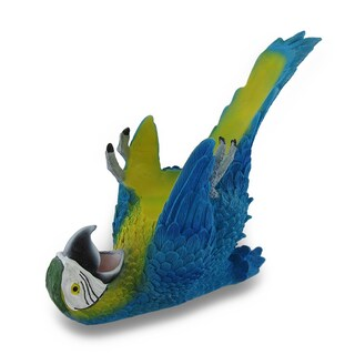 Tropical Parrot Single Bottle Wine Holder (2 options available)