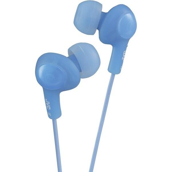Jvc Hafx5A Gumy(R) Plus Inner-Ear Earbuds (Blue)
