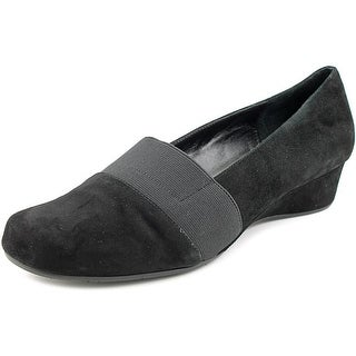 Vaneli Mirah Square Toe Suede Loafer