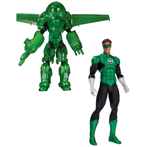 "DC Comics Icons Green Lantern Hal Jordan Dark Days Deluxe 6"" Action Figure"