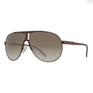 Carrera New Panamerika 2R5 HA Matte Bronze Brown Gradient Aviator Sunglasses - matte bronze brown - 66mm-9mm-135mm