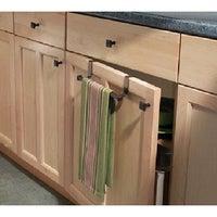 Interdesign 33771 Marcel Over The Cabinet Towel Bar Bronze