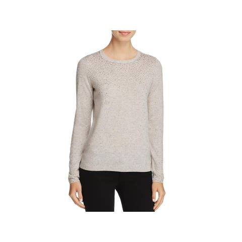 Private Label Womens Pullover Sweater Cashmere Embellished