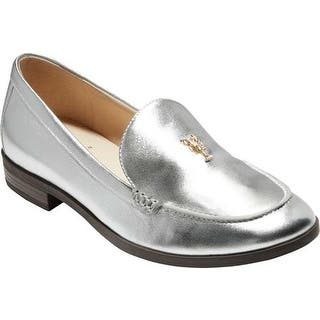 244def7e7ec Cole Haan Women s G.Os Pinch Lobster Loafer Silver Leather