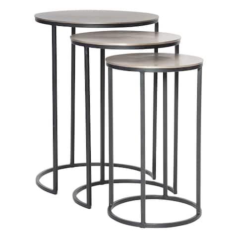 Uttermost Erik Metal Nesting Tables (Set of 3)