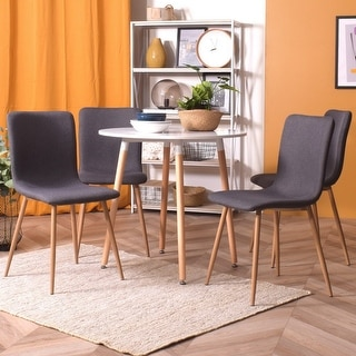 Link to Carson Carrington Metal and Wood Round Dining Table Similar Items in Dining Room & Bar Furniture