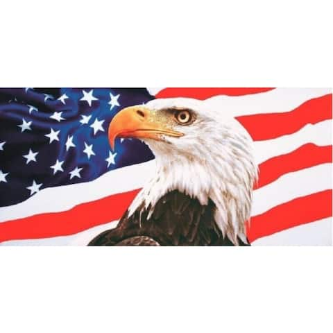 American Eagle 30x60 Brazilian Velour Beach Towel
