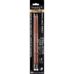 White - Multipastel (R) Chalk Pencils 2/Pkg