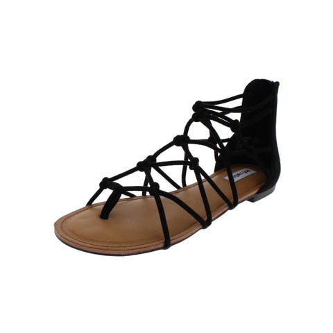 8b81133270b8 Not Rated Womens Genevieve Gladiator Sandals Caged Thong