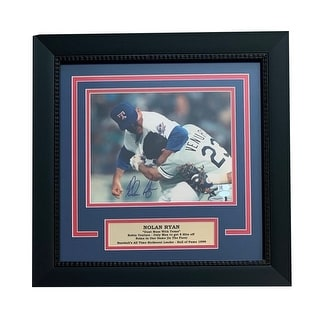 Shop Nolan Ryan Autographed Texas Rangers Signed Framed