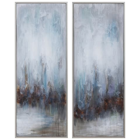 Uttermost Rainy Days Abstract Art (Set of 2)