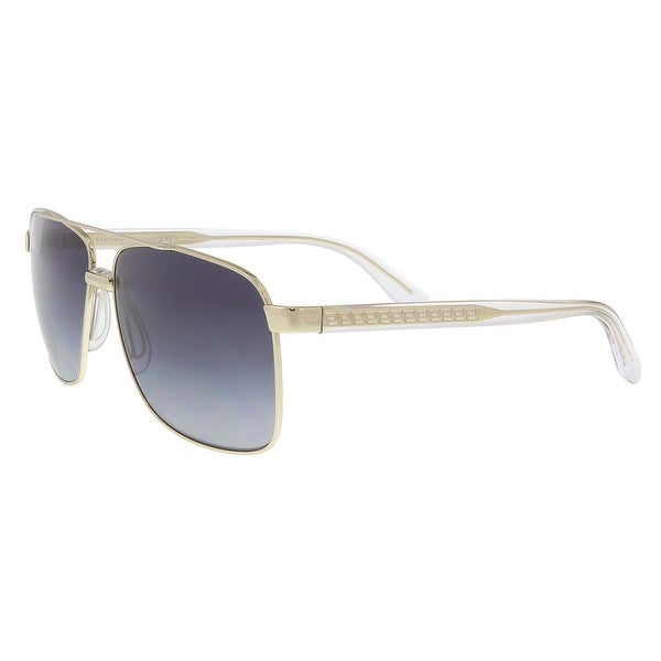 be4fb9cc29 Shop Versace VE2174 12528G Pale Gold Aviator Sunglasses - 59-12-145 ...