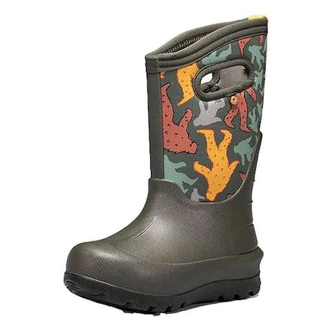 Bogs Outdoor Boots Boys Waterproof Insulated Bigfoot Lightweight