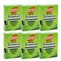 OFF! Botanical Towelettes Plant Based Mosquito Repellent Bug Wipes, 6 pack - Thumbnail 0