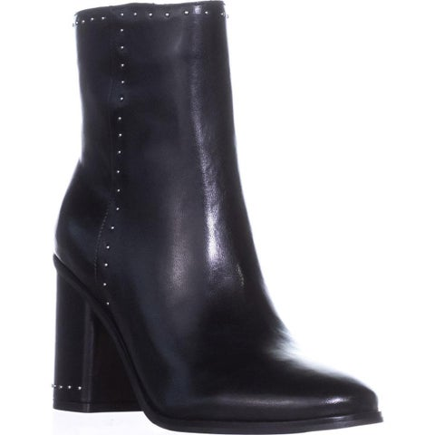 Marc Fisher Piazza Ankle Boots, Black Multi Leather