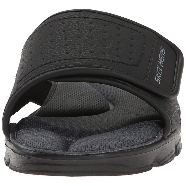 Shop Skechers Sport Men's Wind Swell 51314 Sandal,Black,11 M