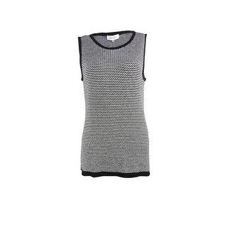 Calvin Klein Women's Chevron Sleeveless Knit Top