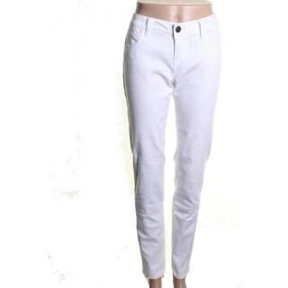 Aqua Womens Denim Mid-Rise Skinny Jeans - 25