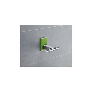 Nameeks 7826 Gedy Maine Double Wall Mounted Robe Hook