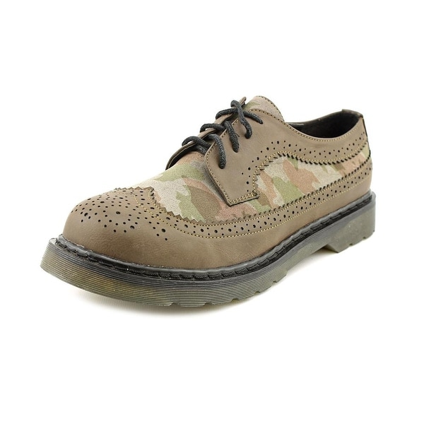 Dirty Laundry Machete Women  Wingtip Toe Synthetic Brown Oxford