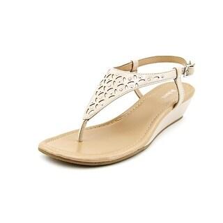 Style & Co Ashella Open-Toe Synthetic Slingback Sandal