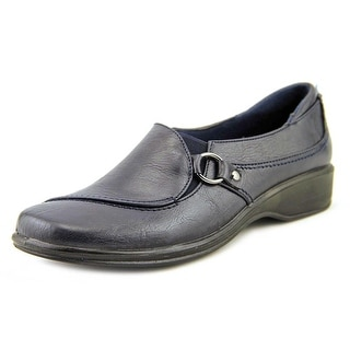 Easy Street Grade Women Round Toe Leather Blue Loafer