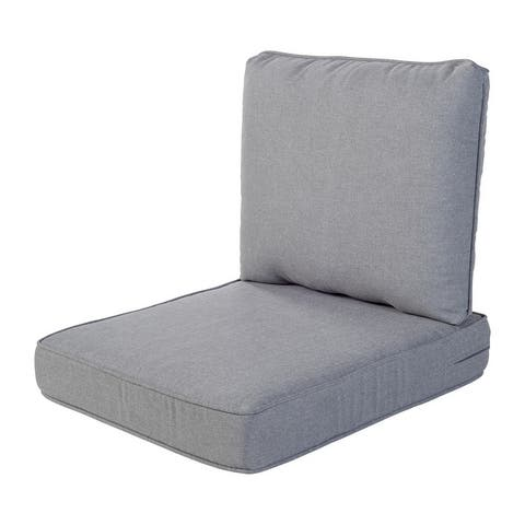 Haven Way Outdoor Seat & Back Cushion Set