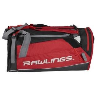 Rawlings Hybrid Backpack/Duffel Players Bag (Scarlet Red)