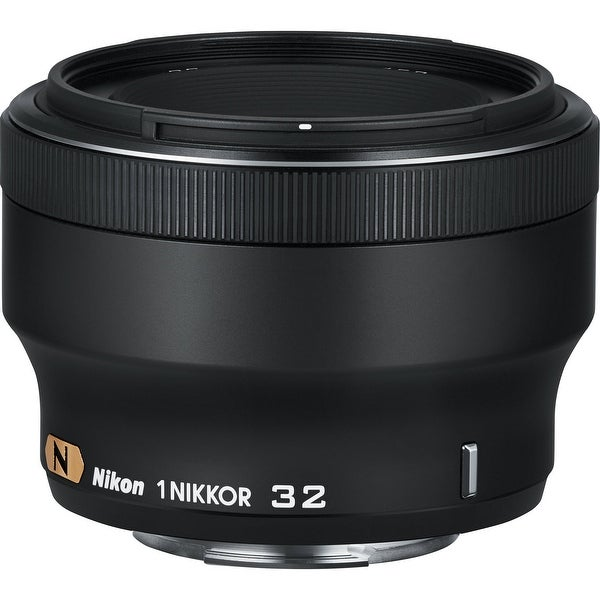 Nikon 1 NIKKOR 32mm f/1.2 Lens (Black) (International Model)