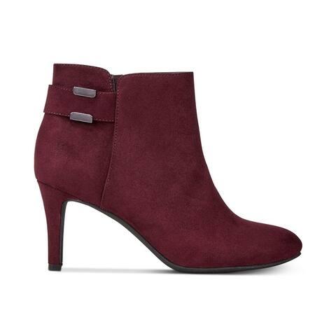 Alfani Womens Faust Closed Toe Ankle Fashion Boots