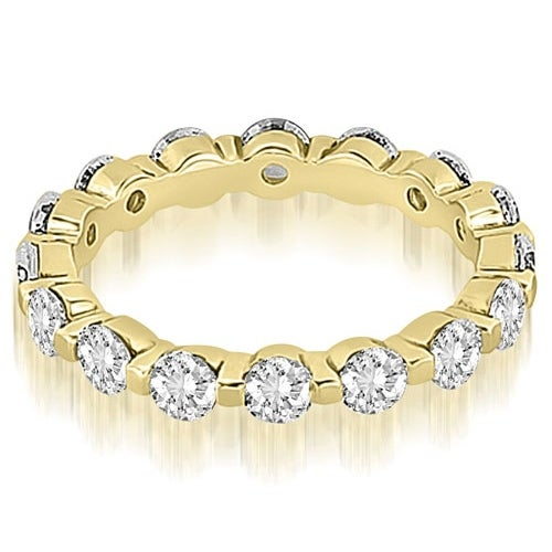 1.70 cttw. 14K Yellow Gold Round Diamond Eternity Ring