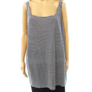 Eileen Fisher NEW Black Organic Linen Women's Size Large L Tank Cami